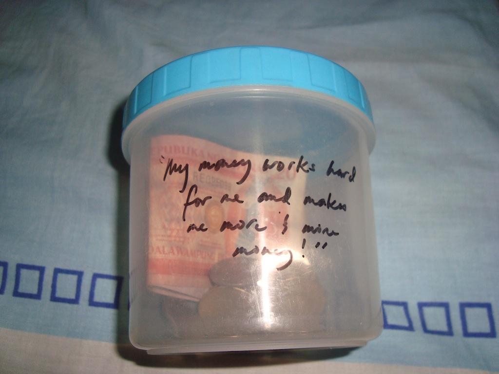 Money Jar System Jar it Says my Money