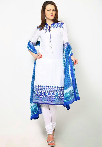 Lawn Frocks Churidar Designs