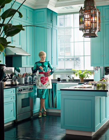 Decor - Green Kitchen