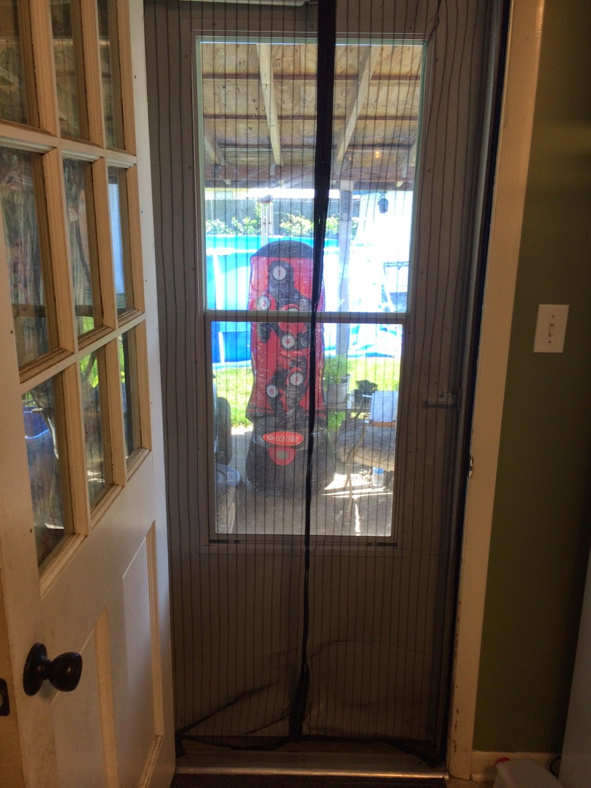 magnetic mesh screen door installation instructions