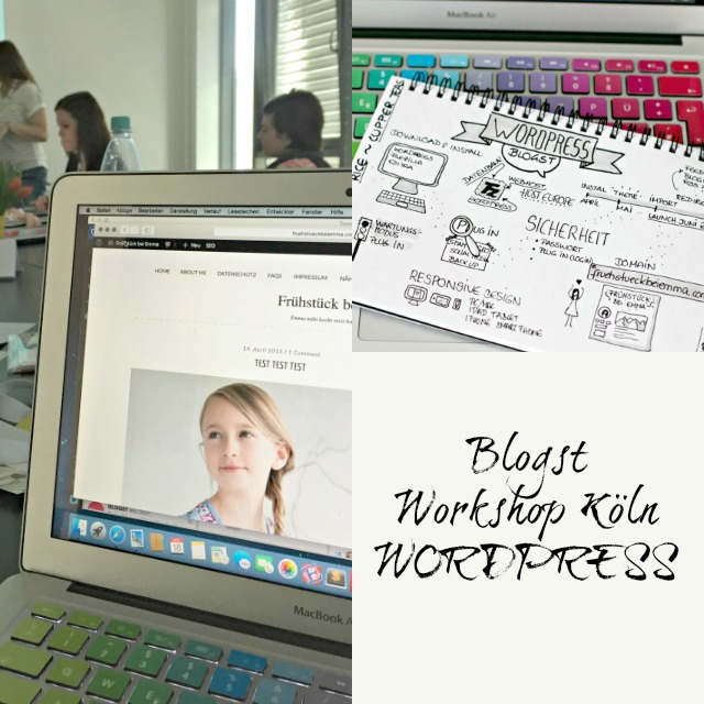Workshop zum Thema Wordpress - Bildschirmfoto