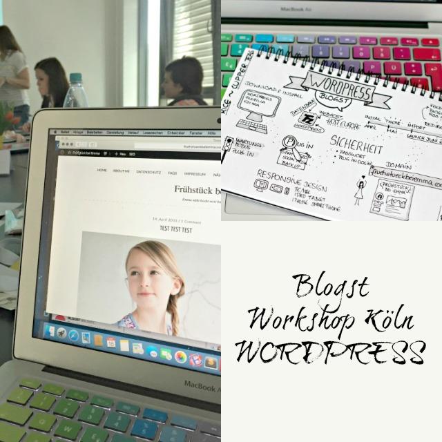 Workshop zum Thema Wordpress - Bildschirmfoto