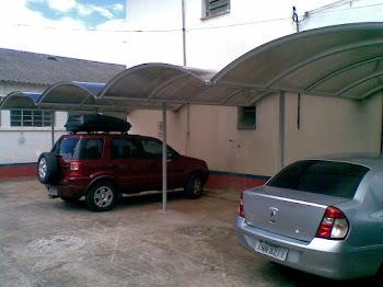 Garagem de condomínio