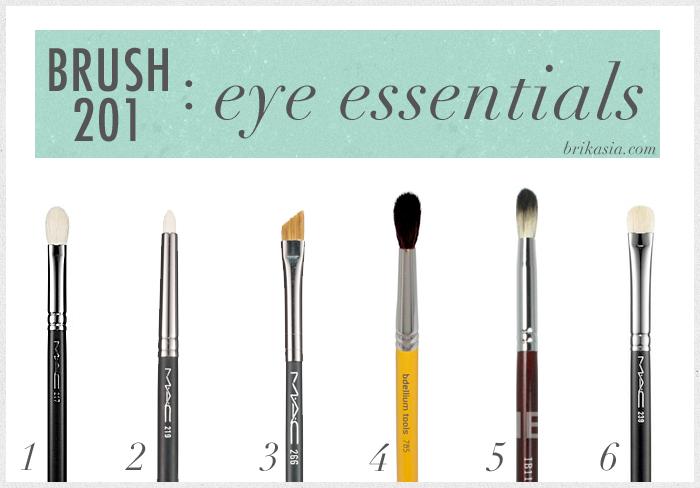 brushes for eyes, eye makeup brushes, makeup brushes, essential makeup brushes, mac brushes, bdellium tools brushes, MAC 219, MAC 239, MAC 217, crown brush