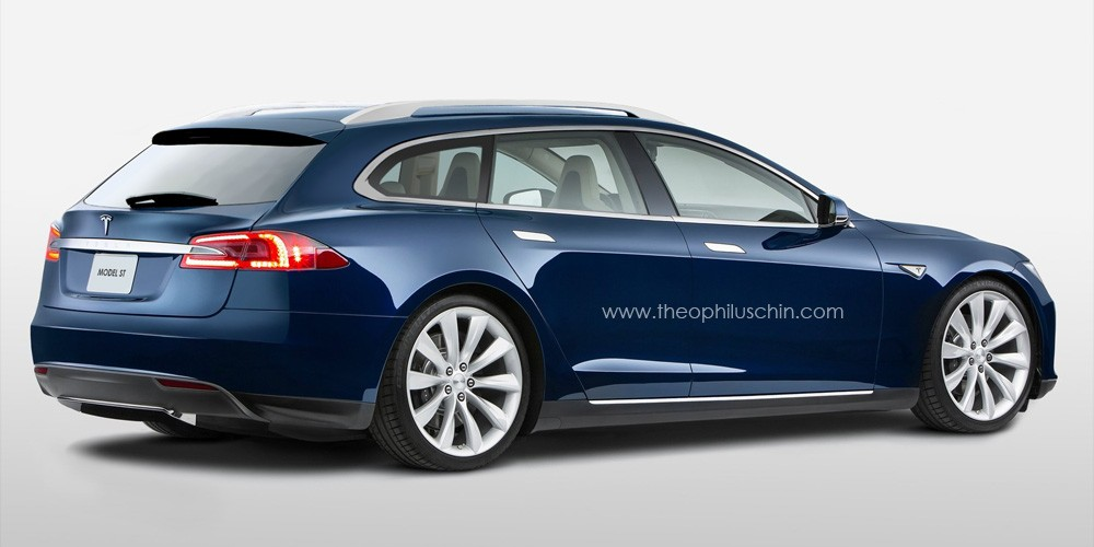 tesla model s bald auch als kombi. Black Bedroom Furniture Sets. Home Design Ideas