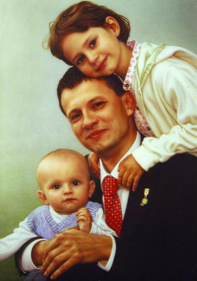 portrett av en familie