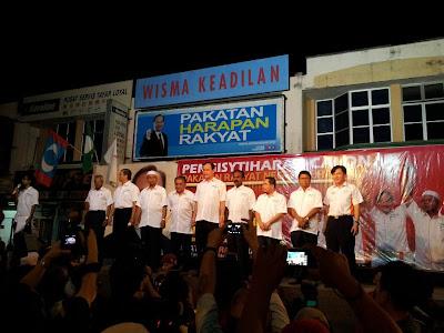 Pengisytiharan calon PR Negeri Perak sudah lengkap