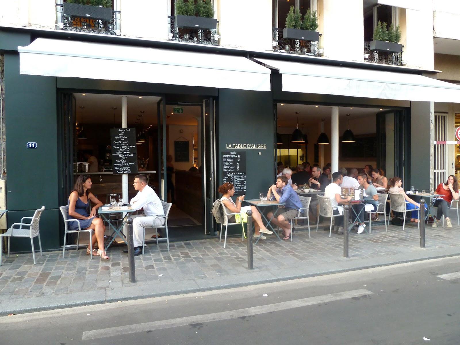 Paris missives la table d 39 aligre restaurant review - La table d aligre ...