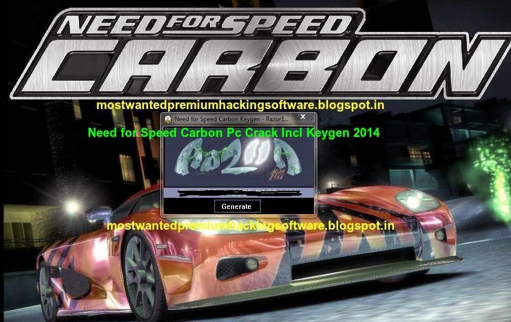 razor1911 keygen need speed carbon