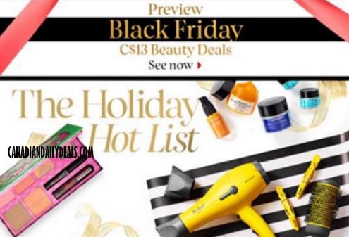 Sephora Black Friday Preview $13 Beauty Deals