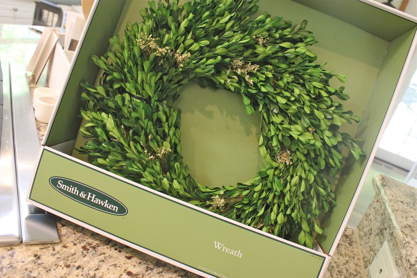 Artificial Boxwood Wreath For Sale - It looks like preserved boxwood but it s so fake plus it had