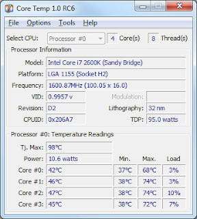 Download Core Temp 1.0 RC6