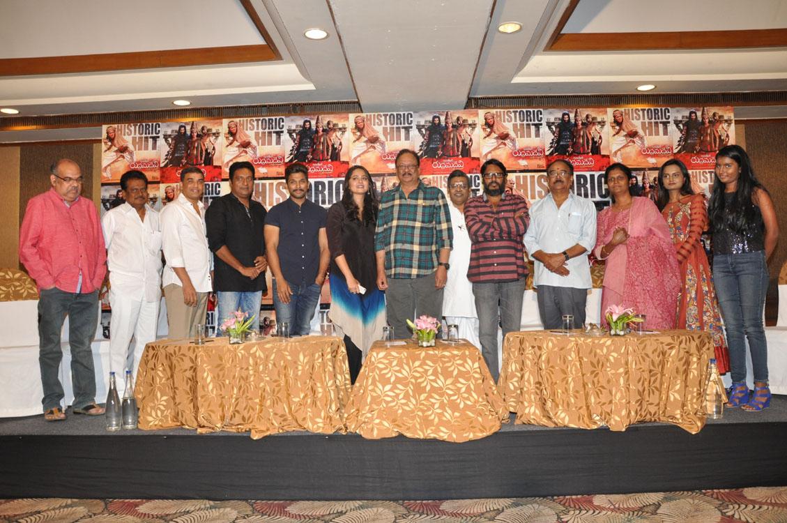 Rudramadevi movie success meet photos-HQ-Photo-10