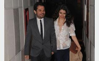 بطلة مسلسل «فاطمة» التركي مع حبيبها