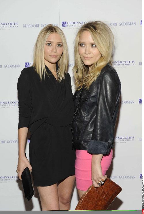 Black Lace Fashion Blog Olsen Twins