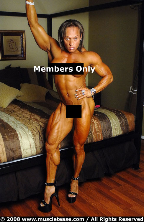 Betty Viana Muscletease Female Muscle Bodybuilding