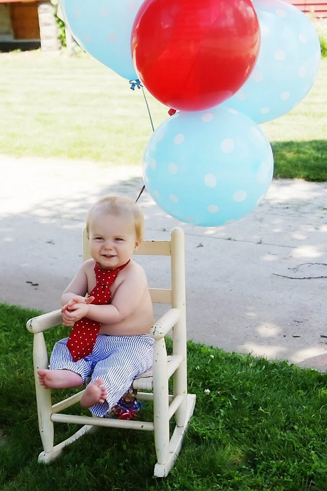 Because I'm Me, First Birthday