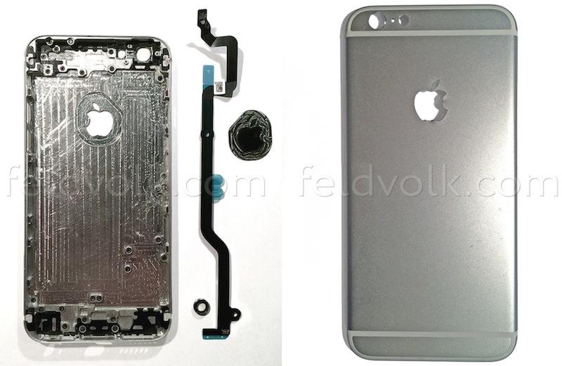 iPhone 6 parte traseira