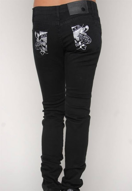 Women Black Skinny Jeans