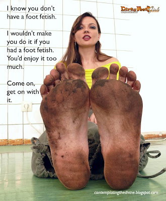 Not a foot fetish