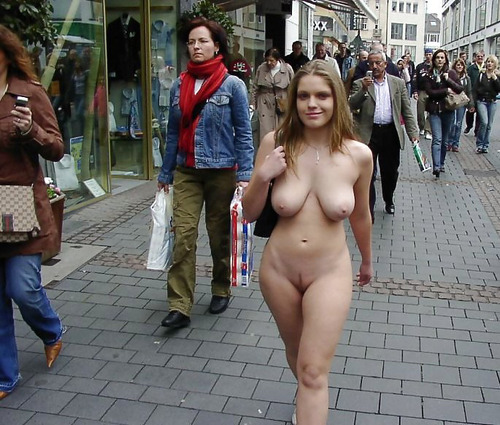Walking Down The Streets Naked