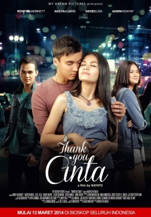 Sinopsis & Trailer Film THANK YOU CINTA (2014)