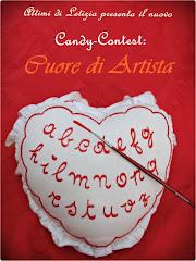 CANDY-CONTEST: CUORE DI ARTISTA