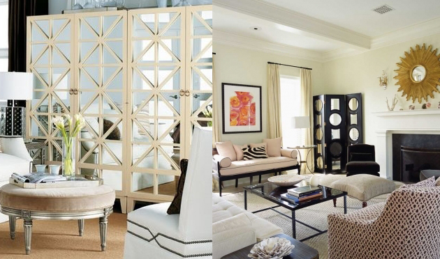 Bricolage e decora o ideias para decorar a sala com biombos - Biombos para decorar ...