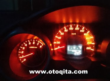 Rpm normal pada Honda Jazz RS 2009