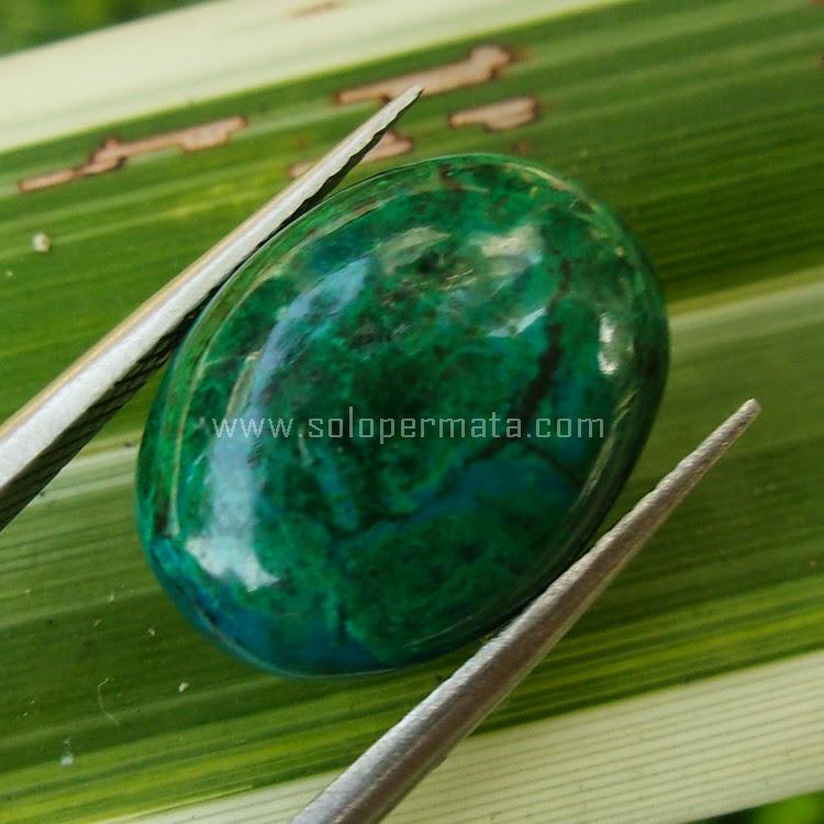 Batu Permata Bacan Chrysocolla Peru - SP542