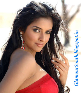 GlamourSouth.blogspot.in: Asin Thottumkal Hot in Red Sheath Dress from ...
