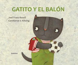"""""""Gatito y el balón"""" (Petit Chat et le ballon)"""