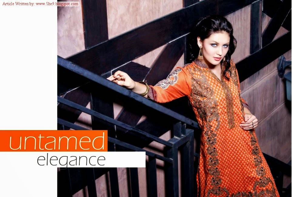 Rabea Kurti Designs for Girls