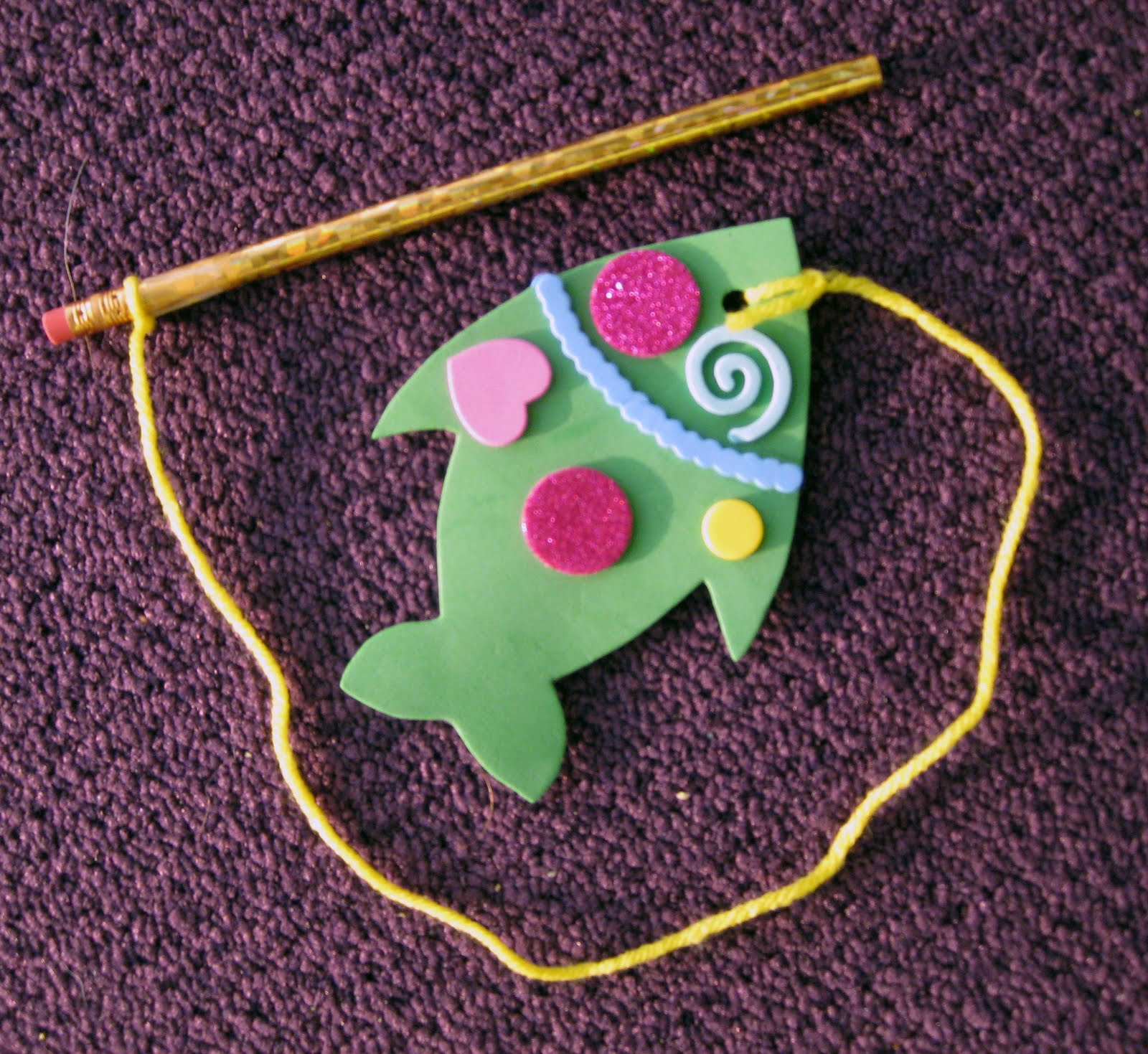 Fantastic fish deb 39 s design for Fish crafts for preschoolers