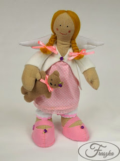 Ręcznie robiony anioł