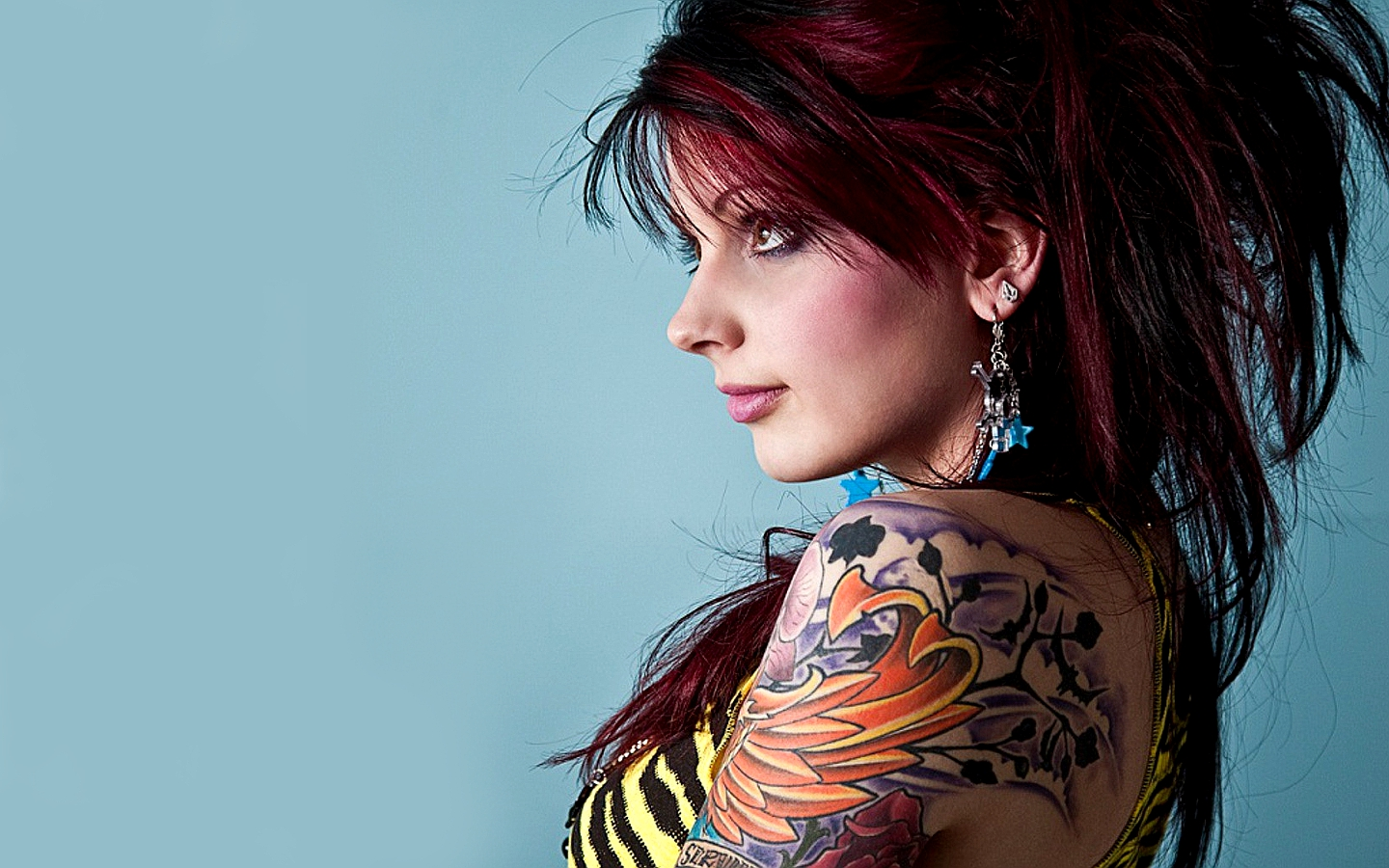 tattoo girl hd wallpaper - photo #19