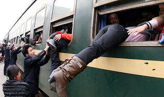 funny pictures of Chinese train