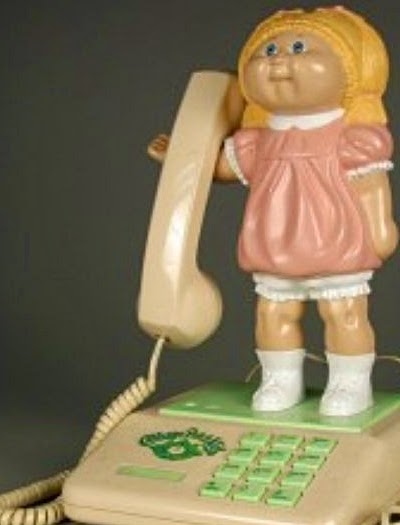 Cabbage doll phone