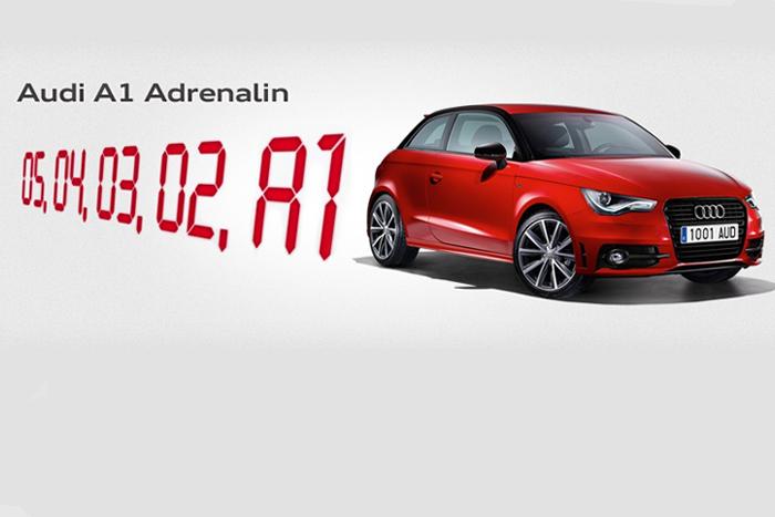 AUDI presenta su A1 Adrenalin