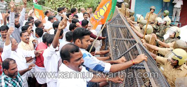 BJP-March-in-Narath, Kannur