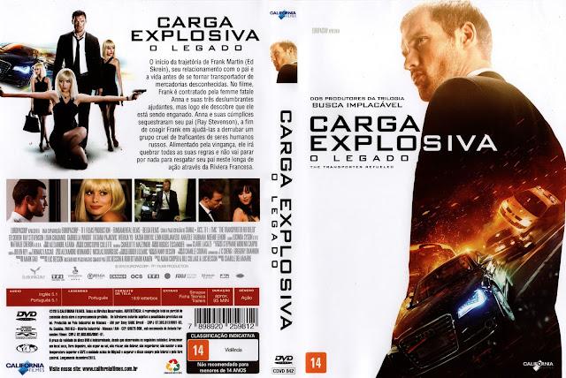 Capa DVD Carga Explosiva O Legado