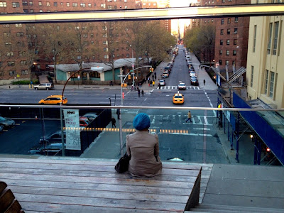 Photo: Girl at the Highline Park Cinema