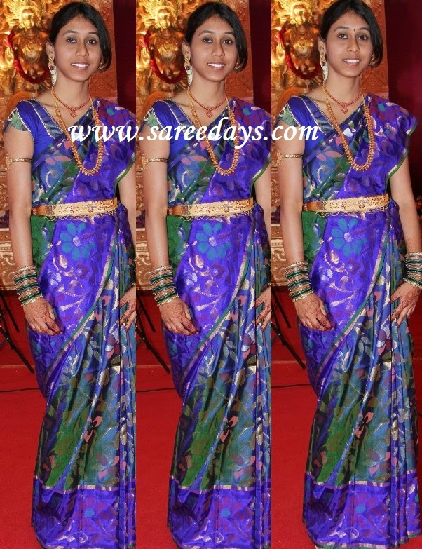 Latest saree designs blue and green uppada pattu saree blue and green uppada pattu saree altavistaventures Images