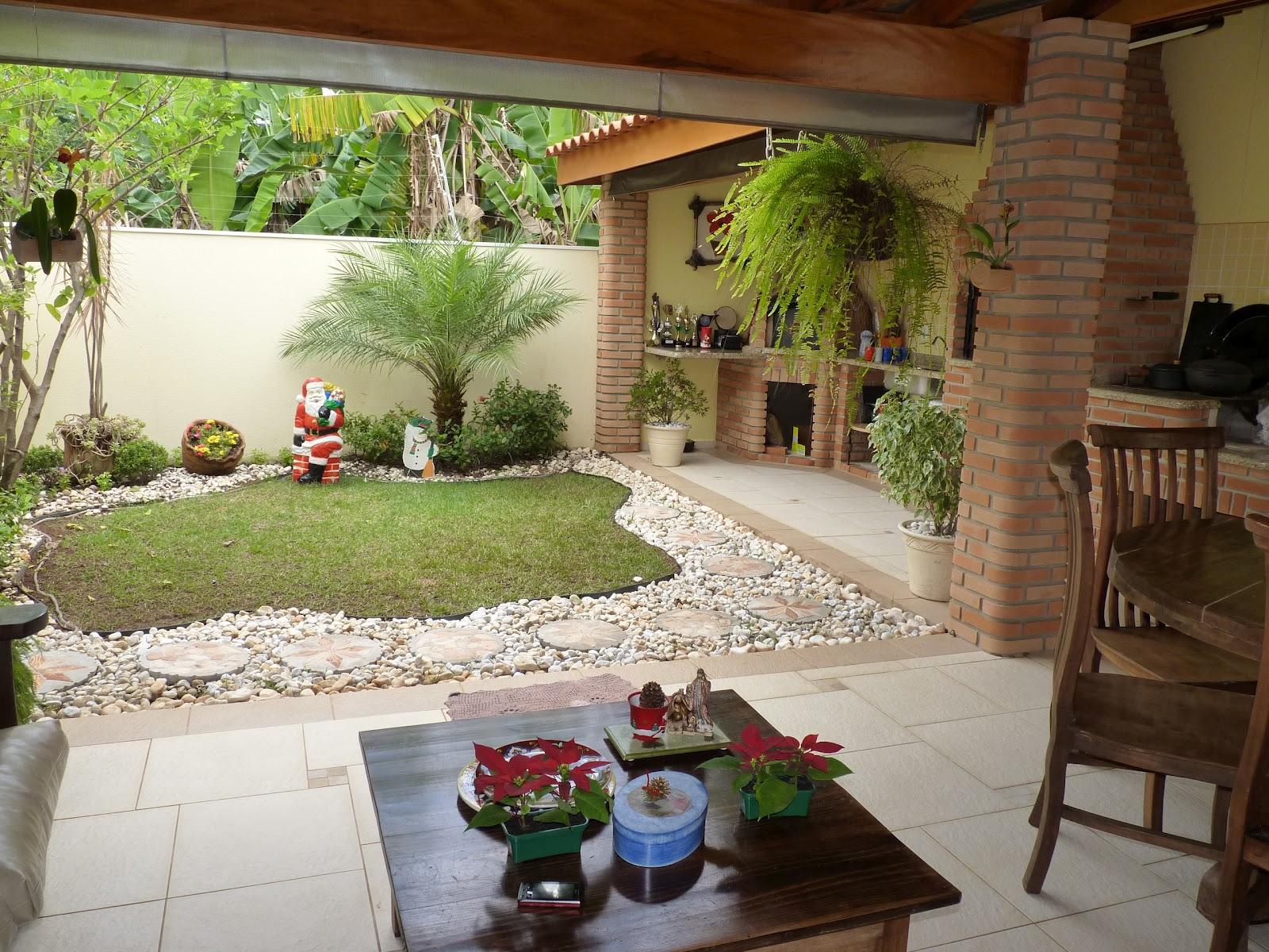 fotos jardim paisagismo:Design de interiores e Paisagismo: jardim residencial