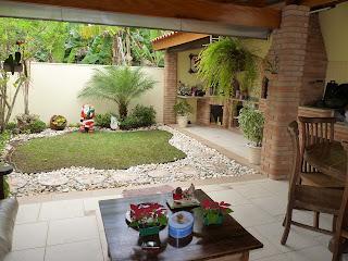 Design de interiores e paisagismo jardim residencial - Ideas para remodelar tu casa ...