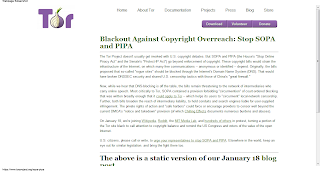 Tor Project Stop Online Piracy Act
