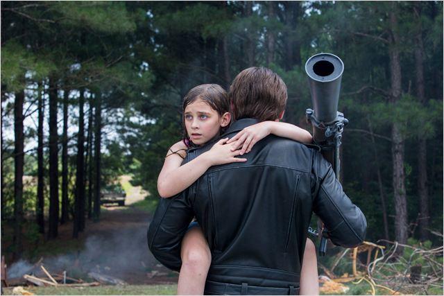 El rescate de Sarah Connors en su infancia (Terminator: Génesis)