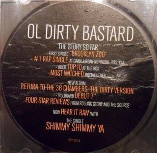 Ol' Dirty Bastard – Shimmy Shimmy Ya (Promo CDS) (1995) (320 kbps)