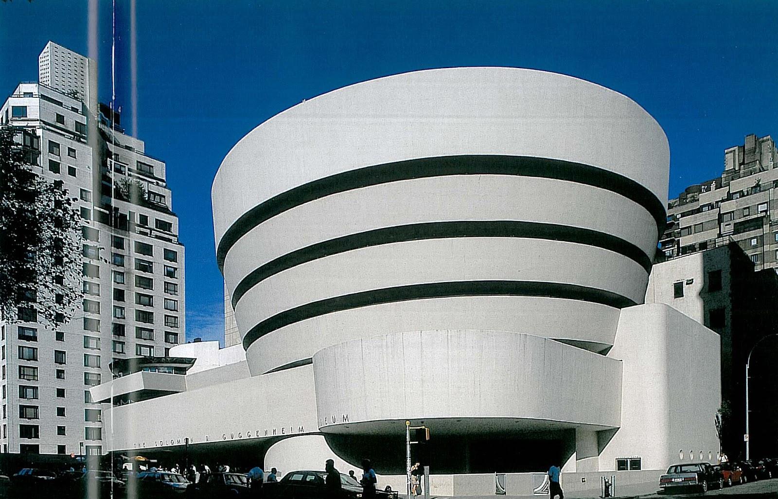Bien-aimé Art visuel: Frank Lloyd Wright - Le Musée Guggenheim - New York GE05