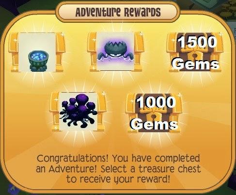 Animal jam bubble trouble normal mode prizes clip